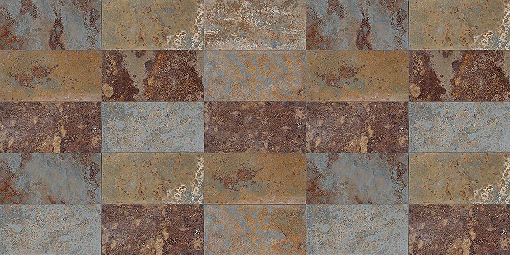Pizarra y cuarcita barcamp - Piedra pizarra oxidada ...